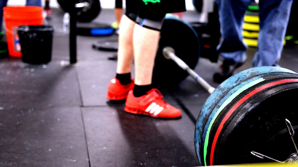 how to make a crossfit gym at home